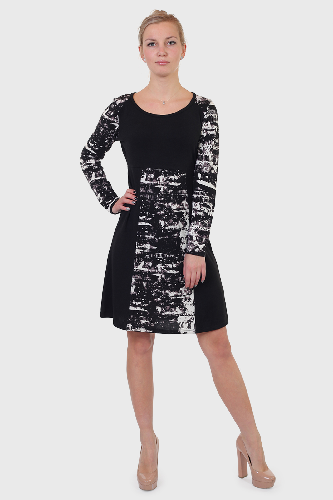 Купить недорого трикотажное платье Le Grenier