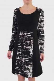 Стильный контраст. Фирменное платье Le Grenier.