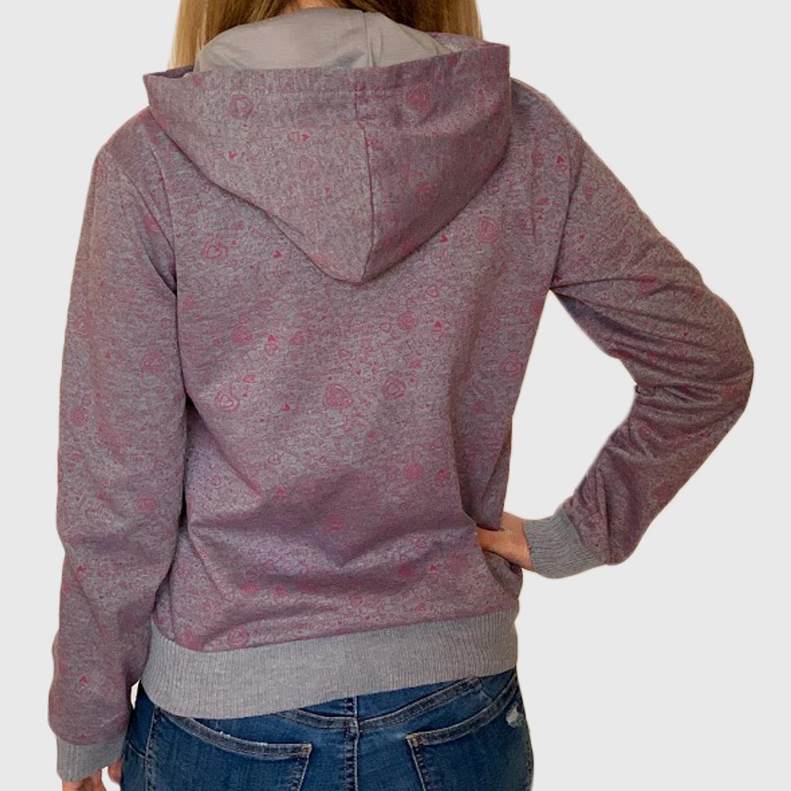 Женские молодежные кофты с принтами – качественный трикотаж