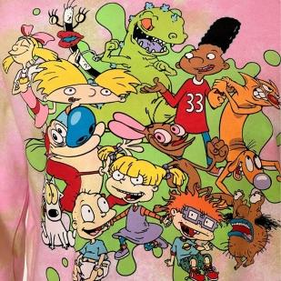 Фирменная женская толстовка Nickelodeon