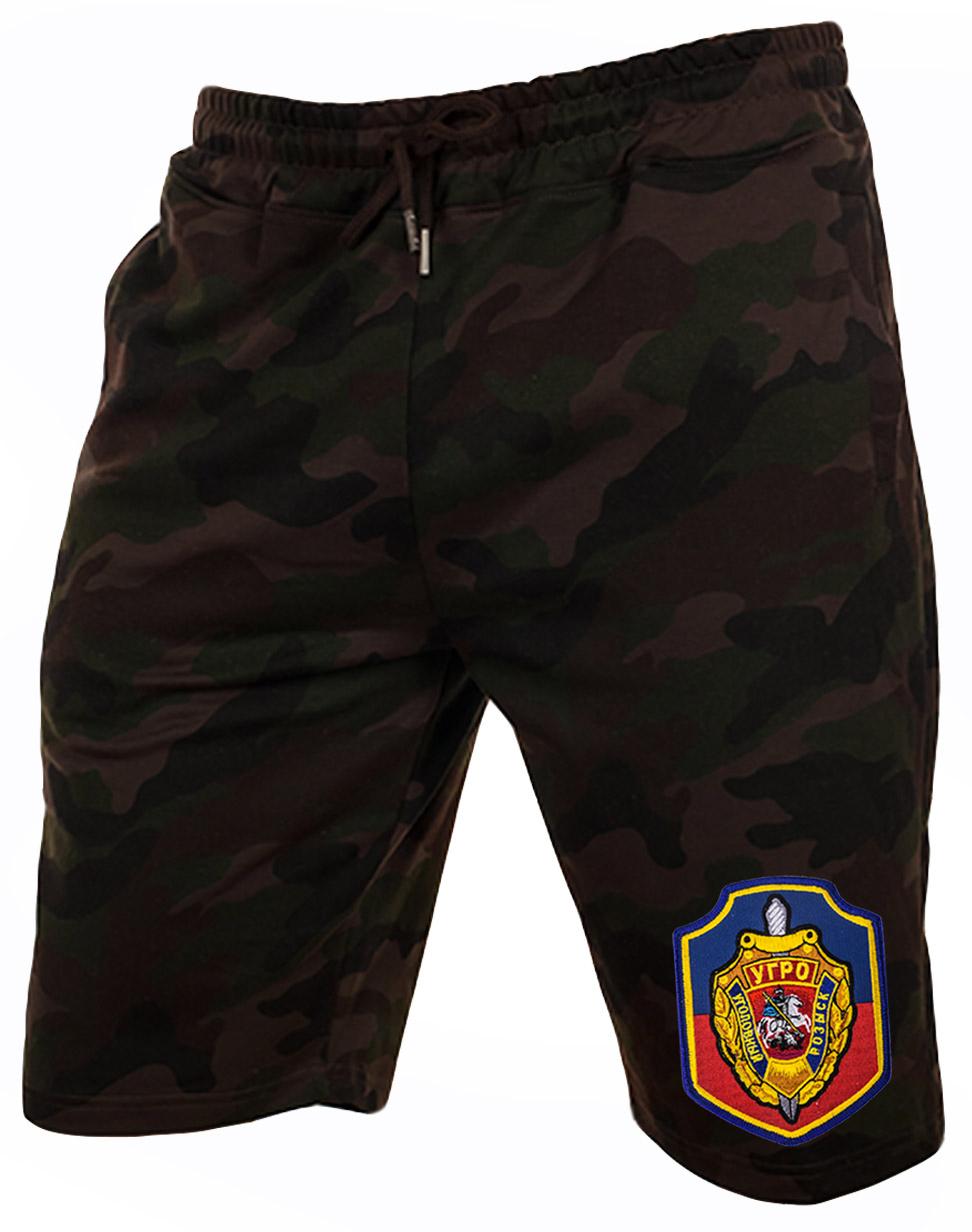 Фирменные камуфляжные шорты УГРО.