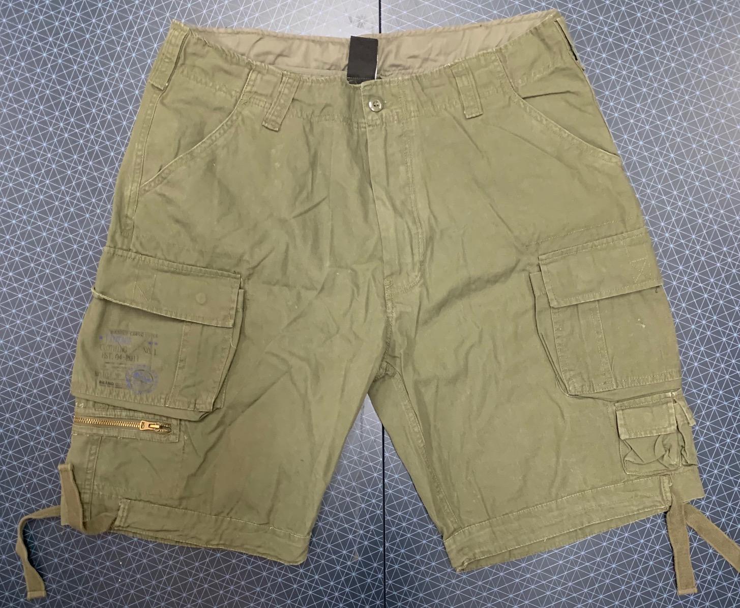 Фирменные мужские шорты карго от милитари-гуру ТМ Brandit
