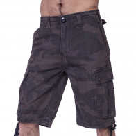 Фирменные шорты карго Dark Camo от Brandit