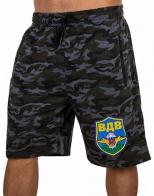 Фирменные мужские шорты с вышивкой ВДВ