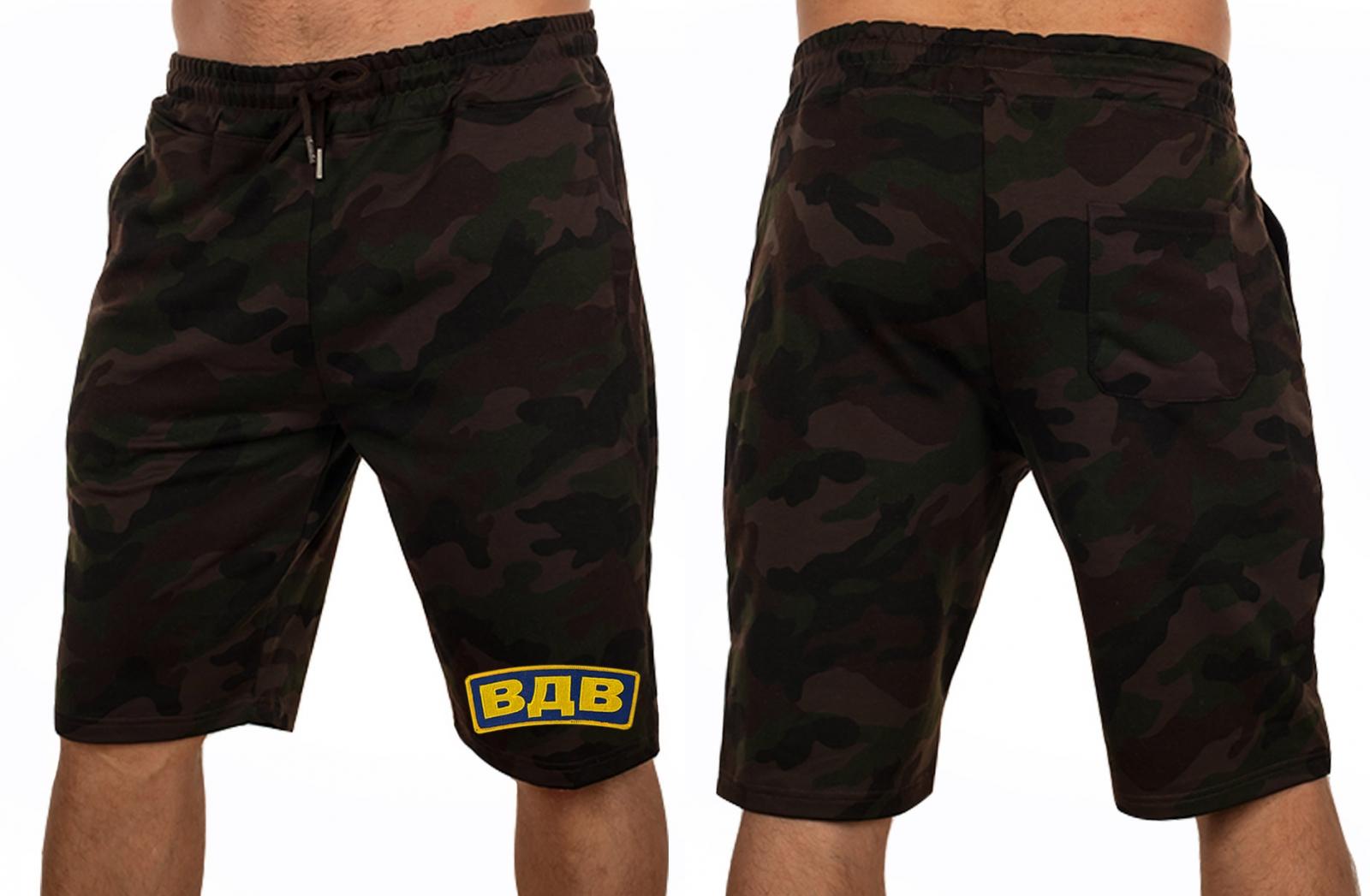 REAL MAN! Фирменные мужские шорты ВДВ IZ-X04-ARMY IZZUE