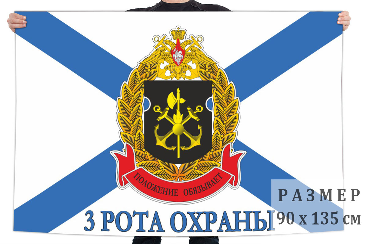 Флаг 3 роты охраны ОБО ГШ ВМФ