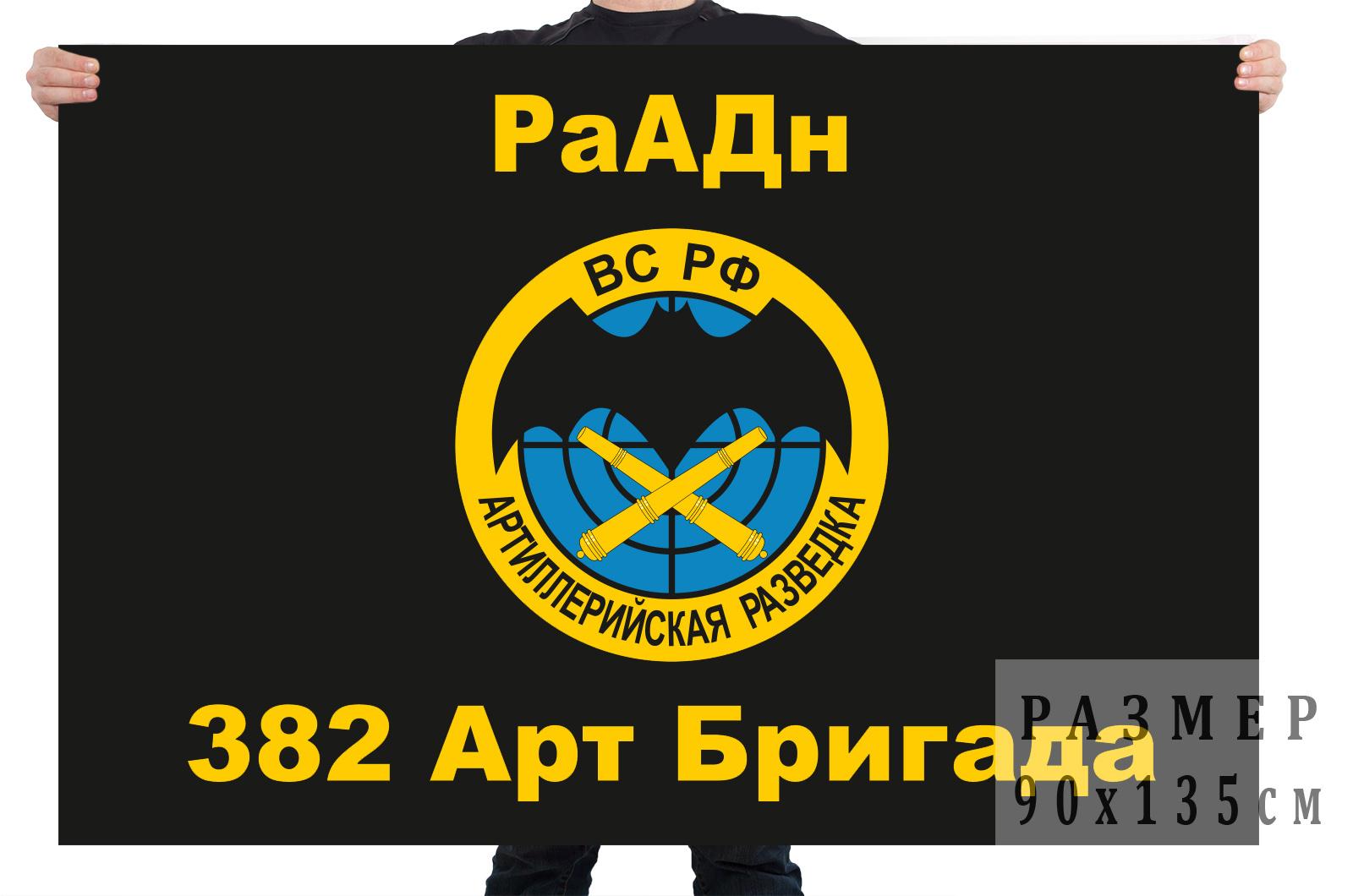Флаг 382 артиллерийской бригады РаАДн