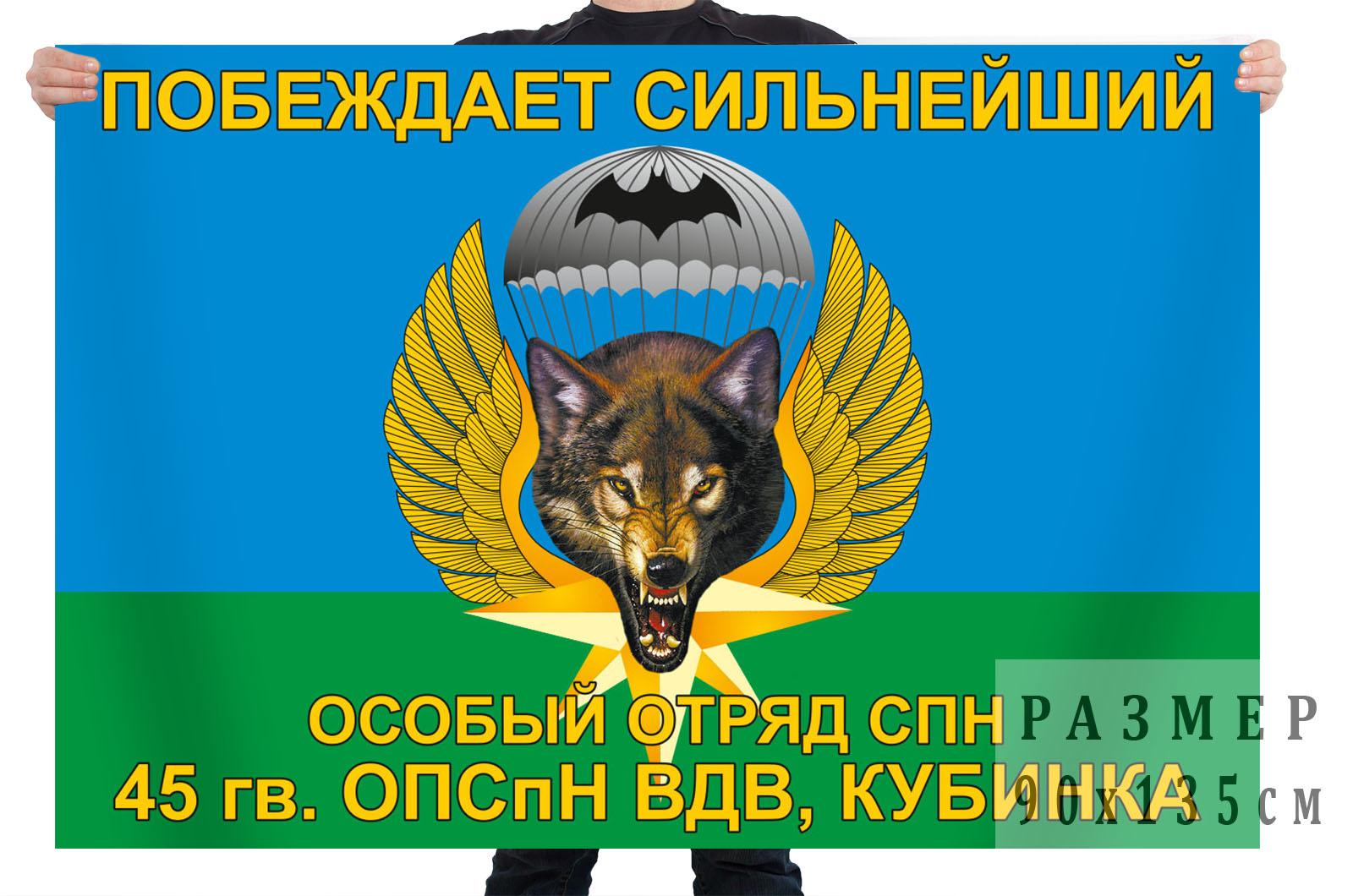 Флаг 45 ОПСпН ВДВ Кубинка