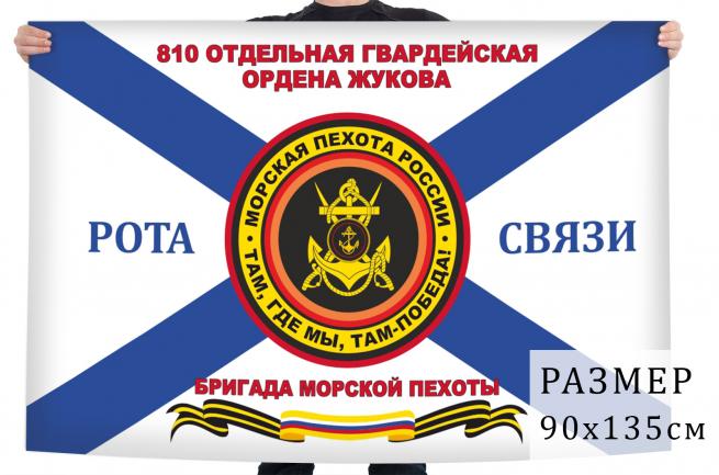 Флаг 810 отдельной Гвардейской ордена Жукова бригады морской пехоты