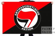 Флаг Антифа - сообщество антифашистов