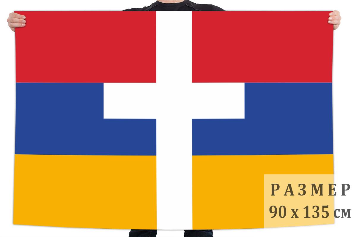 Флаг Армении с крестом