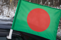 Флаг Бангладеш на машину