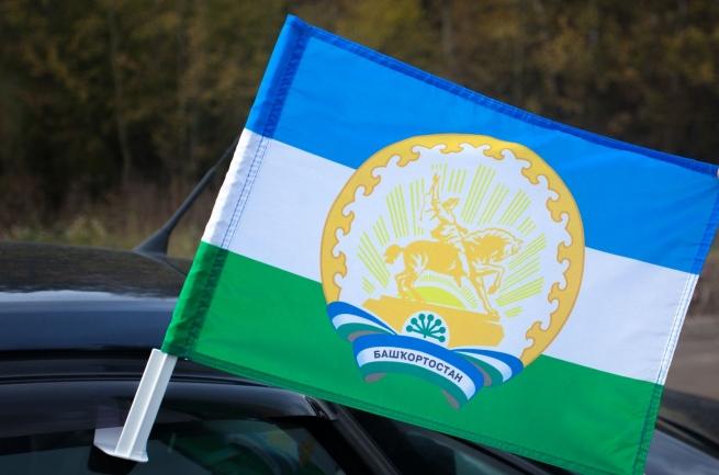 Флаг Башкортостана на машину