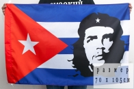 Кубинский флаг «Че Гевара»