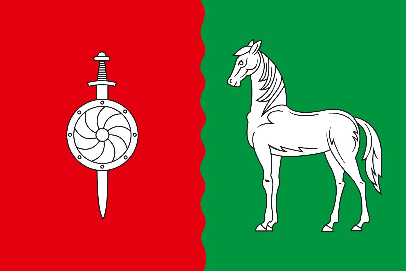 Флаг Данковского района