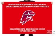 Флаг движения Юнармия