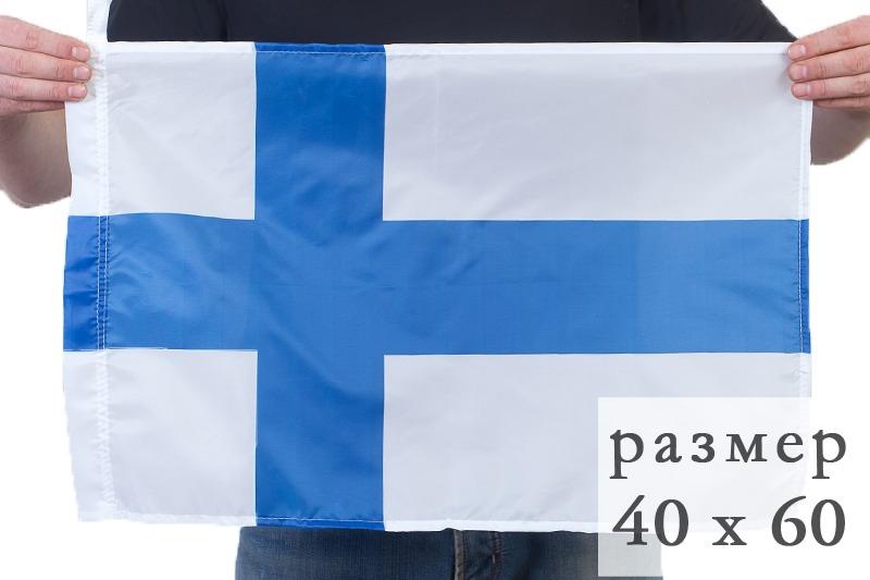 Флаг Финляндии по акции