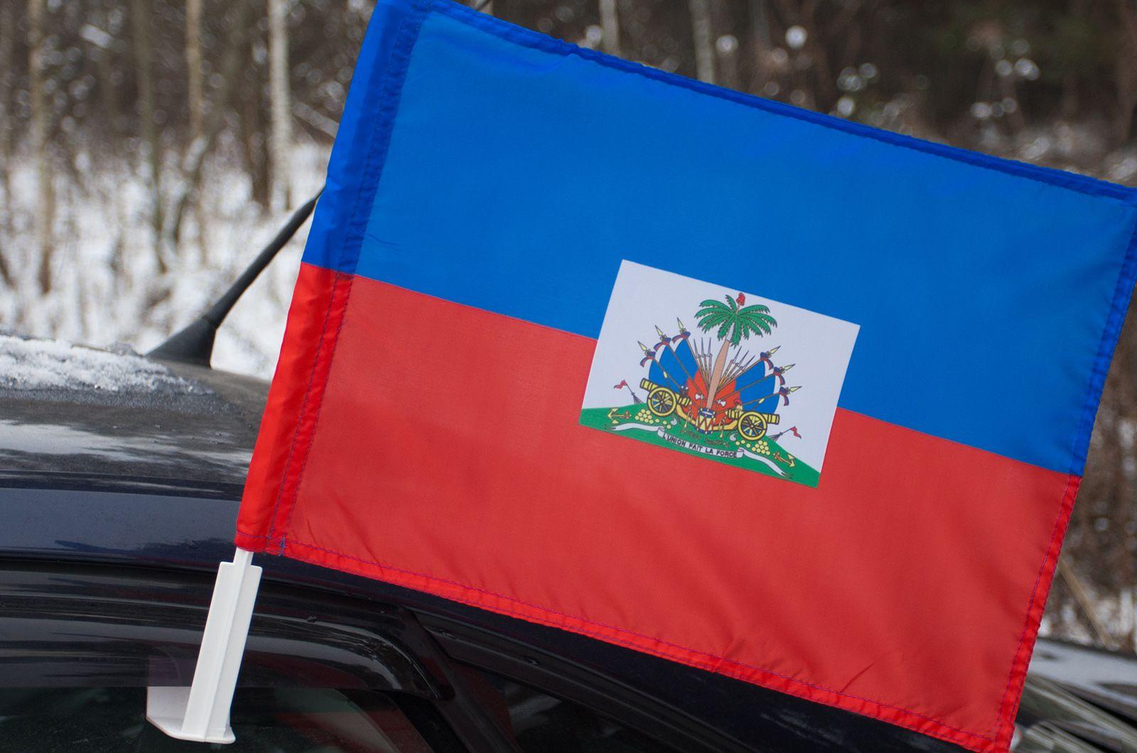 Флаг Гаити на машину