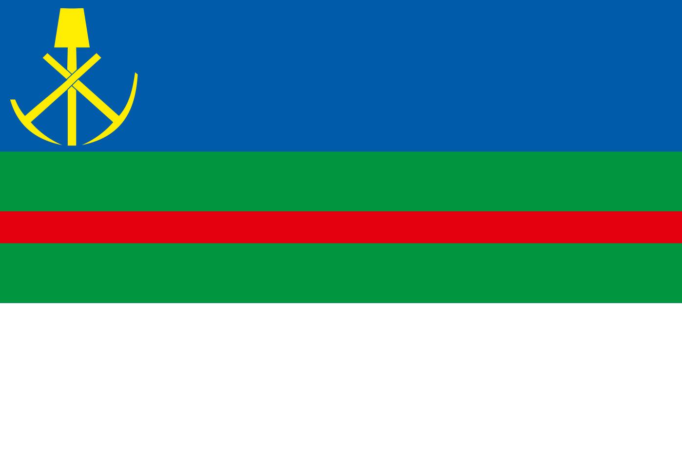 Флаг города Николаевск-на-Амуре