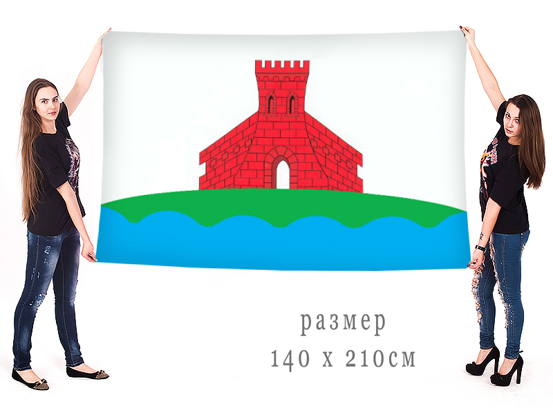 Большой флаг города Задонск