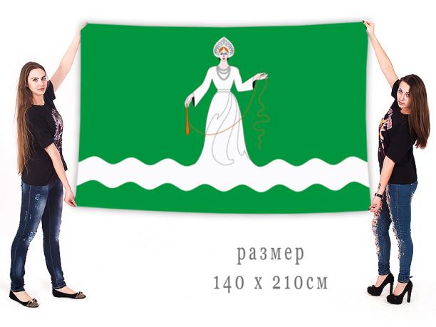 Флаг городского поселения Дрезна