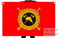 Флаг Государственной противопожарной службы РФ