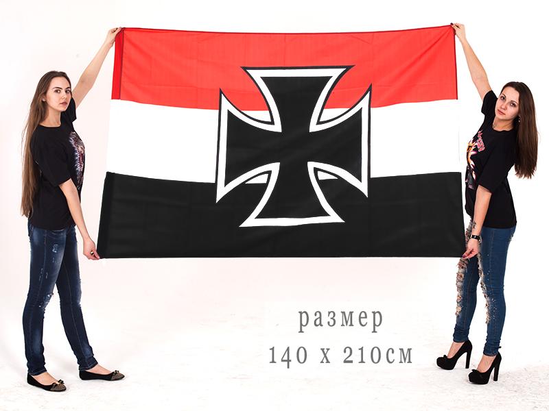 Флаг Гюйс Императорских ВМС Германии 140x210 см