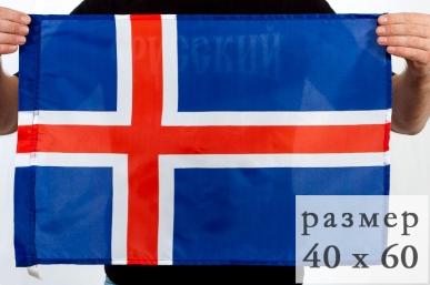 Флаг Исландии 40х60 см