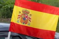 Флаг Испании на машину