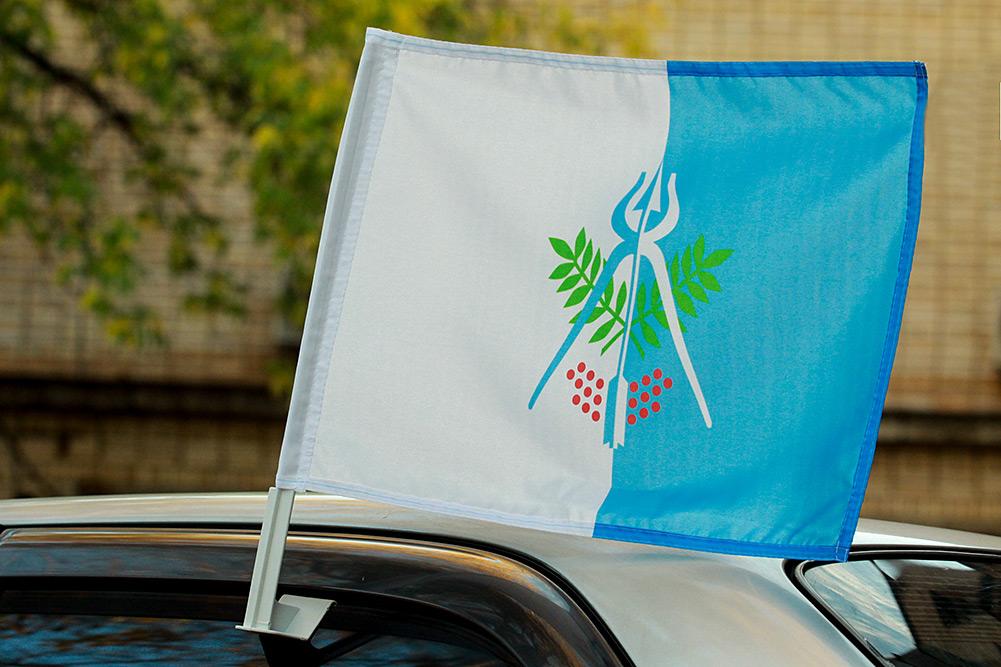 Флаг Ижевска на машину