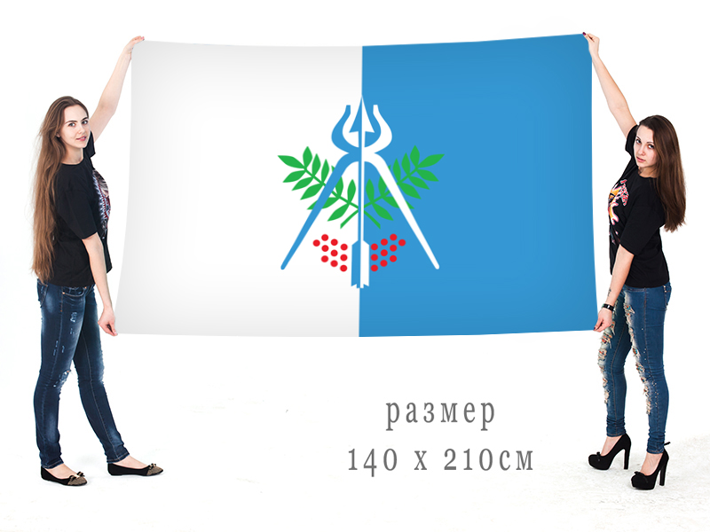 Большой флаг Ижевска