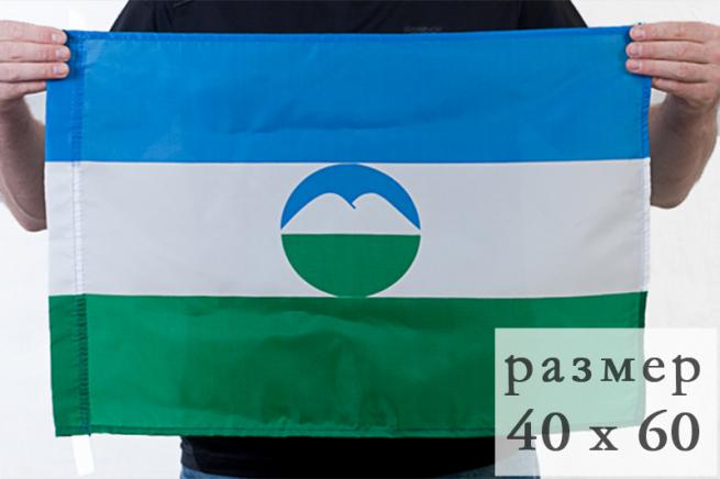 Флаг Кабардино-Балканской Республики