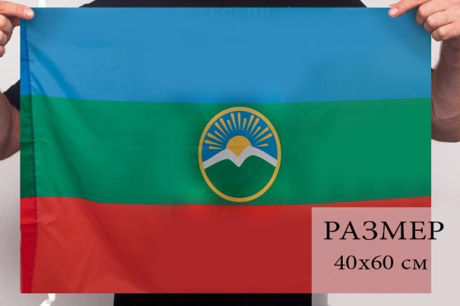 Флаг Карачаево-Черкесии
