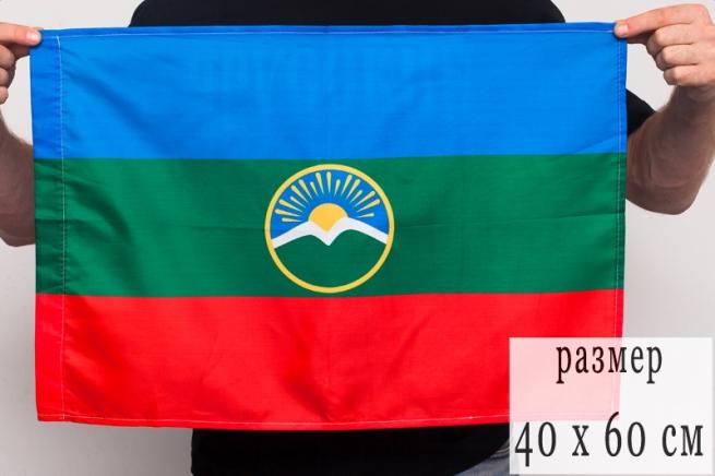 Флаг Карачаево-Черкесии 40х60