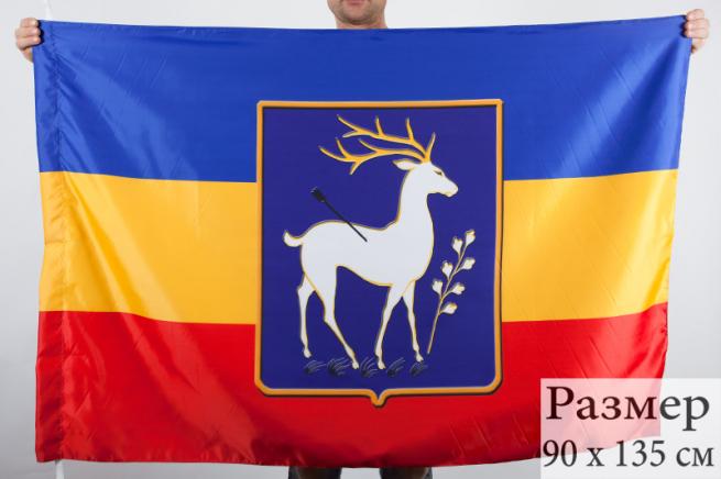 Флаг Всевеликого Войска Донского «Елень»