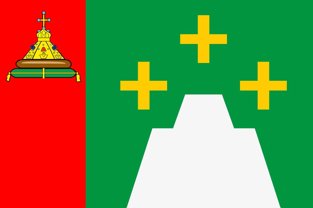 Флаг Кесовогорского района