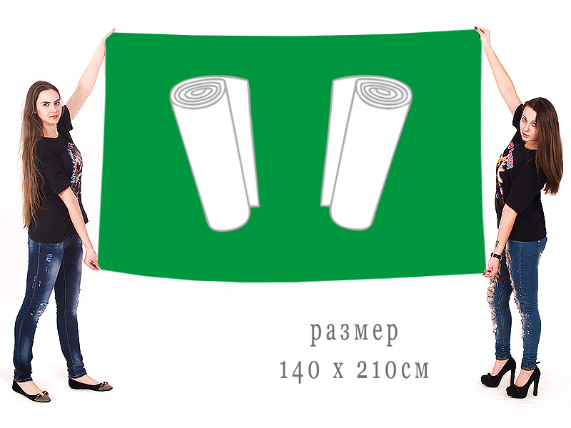 Флаг Кинешмы - большого формата