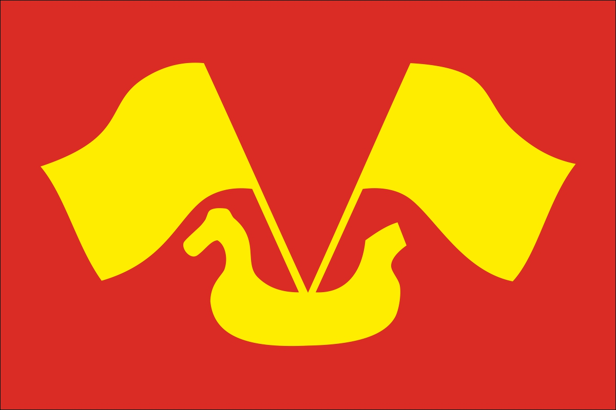 Флаг Кировского района Ленинградской области