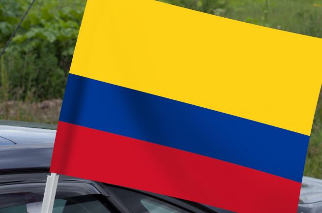 Флаг Колумбии на машину