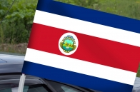 Флаг Коста-Рики на машину