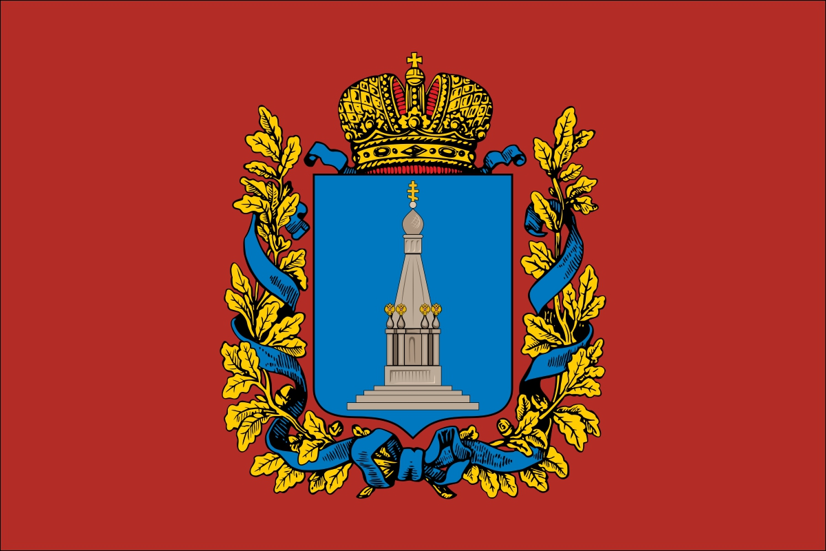 Флаг Ковенской губернии
