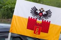 Флаг Краснодара на авто