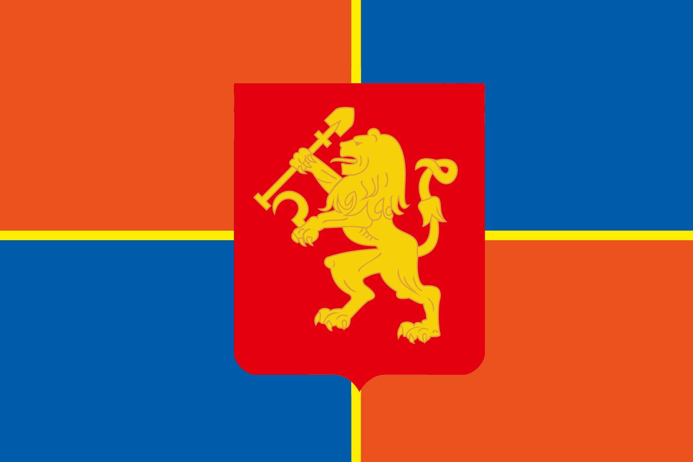 Флаг Красноярска 2004 года