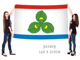 Большой флаг Краснознаменского района Калининградской области