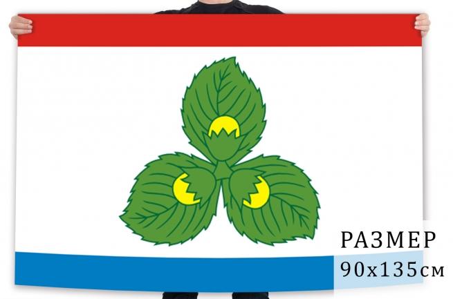 Флаг Краснознаменского района Калининградской области
