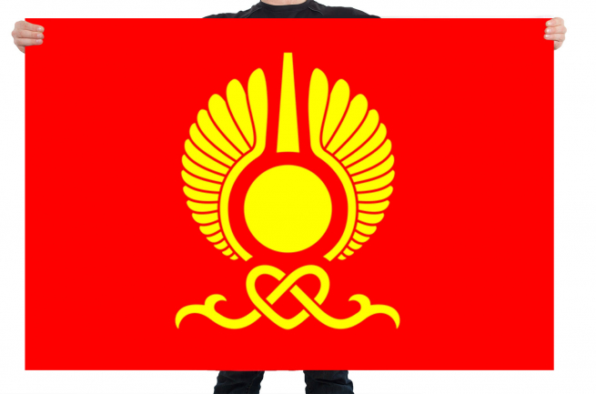 Флаг Кызыла, Республика Тыва