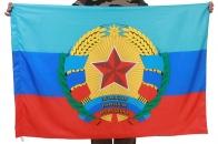 Флаг с гербом ЛНР