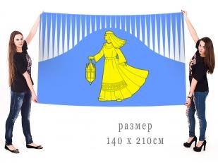 Большой флаг Лоухского района Республики Карелия