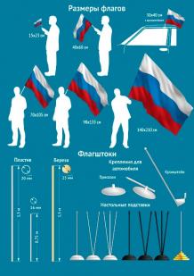 Флаг Люберец, Купить флаг Люберец