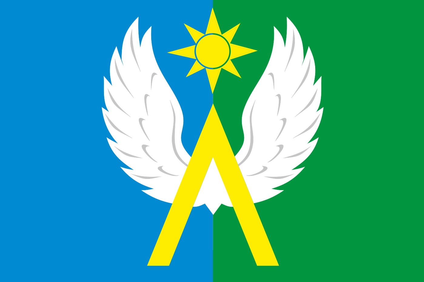 Флаг Луховицкого района